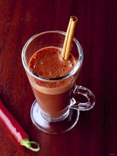 Mayan Hot Chocolate-- THE best!