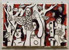mural - (Fernand Leger)