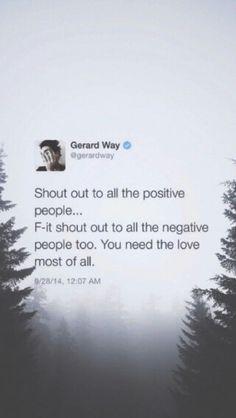 Lock Screen - Gerard Way Tweets
