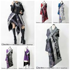 Project Ideas Woman Knitwear and Sweaters 101 sweaters woman's day Classic Outfits, Cool Outfits, Fashion Outfits, Cosplay, Mode Renaissance, Armor Clothing, Japanese Outfits, Alternative Outfits, Fantasy Dress