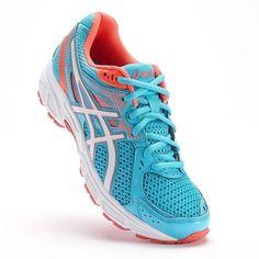 NEW ASICS GEL CONTEND 2 Running WOMENS Wide Width D Blue Coral NIB #ASICS #Running