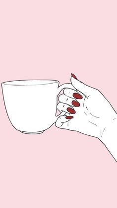 Home - A place where you enter with a full cup of coffee and leave with the desire for another. Coffeecertainly provides you with great coffee moments. Tumblr Wallpaper, Screen Wallpaper, Iphone Wallpaper, Phone Backgrounds, Wallpaper Backgrounds, Comics Vintage, Digital Foto, Pink Aesthetic, Red Nails