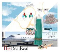 """Jet Set Style With DJ Mia Moretti & The RealReal: Contest Entry"" by lejli on Polyvore featuring Mode, Ippolita, Miu Miu, Valentino, Alice + Olivia, Emilio Pucci und Missoni"