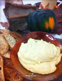 Hold the calories, not the flavor! This recipe for Roasted Acorn Squash Hummus, from Mount Nittany Health Executive Chef Gary Glenn, CEC, is the perfect low-calorie snack.