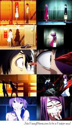 Monogatari series and Tokyo Ghoul