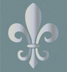 Fleur De Lis Stencil Background Picsdigger Ideas Pinterest Stenciling Paint Stain And Doll Houses