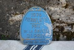 French Equestrian Plaque 2