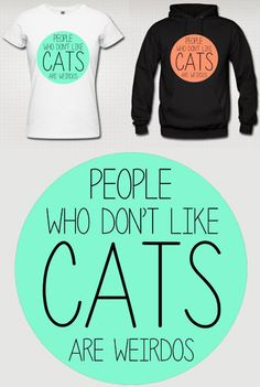 Buy a tee, save a cat! 100% of proceeds go to cat rescue groups: www.catteemission.com