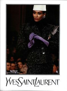 1987-88 - Yves Saint Laurent collection