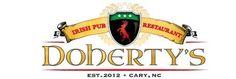 Doherty's Irish Pub, Cary NC- Your neighborhood Bar and Restaurant