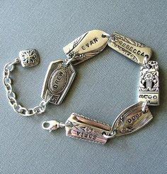Silverware bracelet