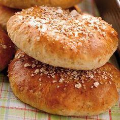 Rågsiktskakor - Hemmets Journal Bagel, Hamburger, Biscuits, Baking, Recipes, Dessert, Journal, Crack Crackers, Cookies