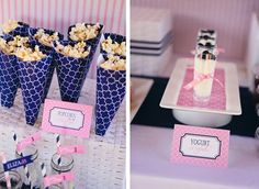 sailor baby shower; nautical themed baby shower; creative baby shower; girl baby shower