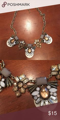 Jeweled necklace Gently worn perfect condition jeweled necklace Jewelry Necklaces