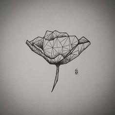 Geometric Poppy