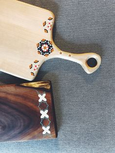 Cutting board - Maple (Afra) and Walnut (Gerdoo) - hand painted- Persian design Fine Furniture, Persian, Cutting Board, Hand Painted, Wood, Beauty, Nice Furniture, Woodwind Instrument, Timber Wood