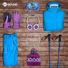 Partire per la montagna: cosa non può mancare nel perfetto look da neve?  #outfit #look #musica #music #cuffie #headphones #MySound #neve #snow  #sciare #skiing #HpSmart