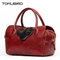 Cheap handbag lv, Buy Quality bag findings directly from China handbag lunch bag Suppliers: TOMUBIRD 2016 new superior cowhide leather famous brand women bag retro fashion women genuine leather handbags shoulder bag Retro Fashion, Fashion Women, Famous Brands, Cowhide Leather, Luggage Bags, Leather Handbags, Cool Things To Buy, Shoulder Bag, Women's Bags