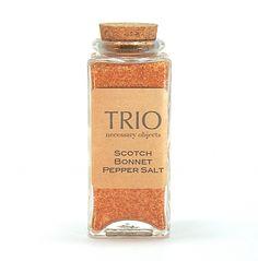 Scotch Bonnet Pepper Salt Seasoning - 3.4oz by Trio Artisan Designs on Gourmly