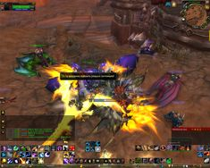 Not so old screenshot. Minutes before MoP launch when people could be displayed only 5 meters from me #worldofwarcraft #blizzard #Hearthstone #wow #Warcraft #BlizzardCS #gaming