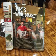 Have you seen us in Old City Life this month? #staugustine #wine #staugustinebeach #oldcitylife by tims_wine_staug