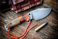J. A. Voss – VCA Knives | Facas e bainhas artesanais Survival Knife, Survival Gear, Knife Template, Damascus Knife, Cool Knives, Fixed Blade Knife, Wilderness Survival, Tactical Knives, Custom Knives