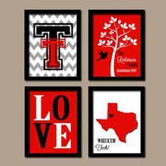 Texas Tech collage