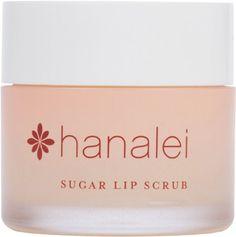 Pretty Maui Sugar Lip Scrub with Kukui Nut Oil by Hanalei Beauty Company (Cruelty-free) 22g