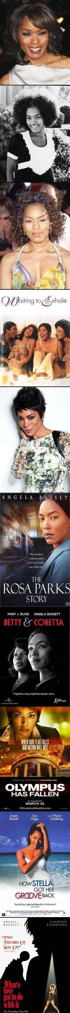 Angela Bassett attended Yale University, received her B.A. degree in African-American studies in 1980. In 1983, she earned a Master of Fine Arts degree from  Yale School of Drama.She has become well known for her biographical film roles portraying real-life women in African-American culture.