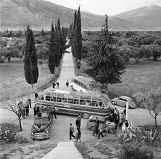 1960 ~ Daily excursion at Marathon (Attiki)