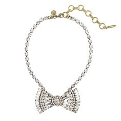 CHLOE BOW TIE - Loren Hope, an interesting take on the necklace...