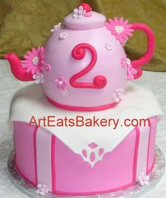 Teapot cake...would likely change the design