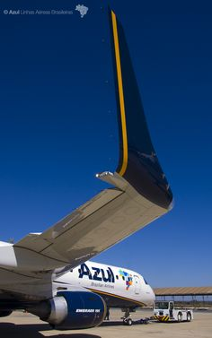 Detalhes. Azul Brazilian Airlines, Planes, Commercial Aircraft, World Pictures, Bus, Flight Attendant, War Machine, Airplane, Military