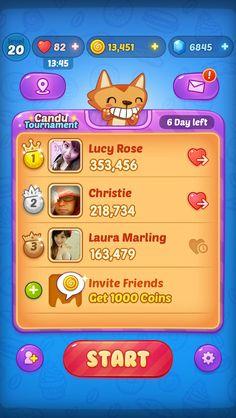查看《Lans' Game UI Des...