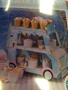 New wedding birthday retro ice cream van sweet stand table decoration cart  | eBay