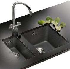 Franke Kubus Undermounted Kitchen Sink In Fragranit. 2 Bowls | Kitchen Redo  Here We Come! | Pinterest | Sinks, Bowls And Kitchens