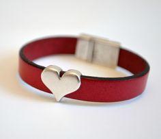 Easy Leather Cuff Bracelets - One Artsy Mama