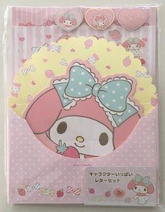 Sanrio Original My Melody Stationery Shop, Kawaii Stationery, Letter Set, Letter Writing, Cute Stationary, Kawaii Shop, Gal Pal, Sanrio, Scrapbook Paper
