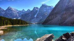 Mountain lake wallpaper – Nature wallpapers