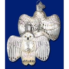 Old World Christmas Snowy Owl Ornament owc16053