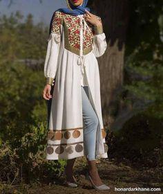 Iranian Women Fashion, Russian Fashion, Hijab Fashion, Fashion Dresses, Women's Fashion, Cardigan Outfit Summer, Suit Pattern, Designer Party Wear Dresses, Designs For Dresses