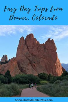 Explore Rocky Mountain National Park, drive on highest paved road in North America, concert at a natural amphitheater - plan a few day trips from Denver. Canada Travel, Travel Usa, Travel Couple, Family Travel, Day Trips From Denver, Travel Guides, Travel Tips, Travel Goals, Travel Advice