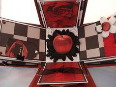Twilight Saga Inspired Explosion Box Scrapbook Album