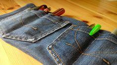 Carotellstheworld: [Blogparade] Aus alt mach neu - Jeansstifterolle