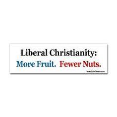 Liberal Christianity Bumper Sticker