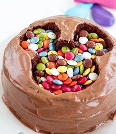 Mickey Mouse de chocolate con irresistibles Lacasitos :D