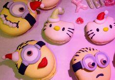 ⭐️Cute Macaron⭐️ by Love Macaroons  甜美瘋子 造型馬卡龍 聖誕Hello Kitty 香蕉人 壞蛋掌門人 Xmas Mionion