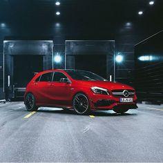 Photo by: @srcreativity  (by: mercedesbenz )  [Mercedes-AMG A 45| Fuel consumption combined: 7,3-6,9 (l/100 km) | CO2 emission combined: 171-162 g/km | https://www.mercedes-benz.com/de/mercedes-benz/external/rechtliche-hinweise/ ]