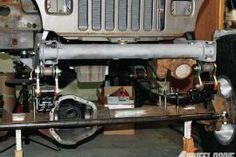 Dana 60 Axle Daves's full width jeep swap kits