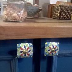 balcão customizado na cozinha ⛺